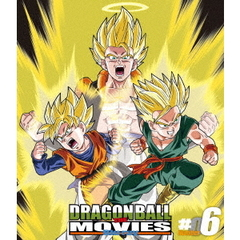 DRAGON BALL THE MOVIES Blu-ray #06(Blu-ray Disc)