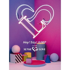 Hey! Say! JUMP/Hey! Say! JUMP LIVE TOUR SENSE or LOVE <初回限定盤 Blu-ray>(Blu-ray Disc)