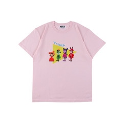 tricot×まつむらあさみ コラボTシャツ TRIANGLE ピンク