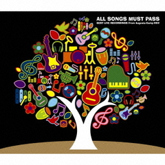 ALL SONGS MUST PASS-BEST LIVE RECORDINGS From Augusta Camp 2012-(初回生産限定盤)