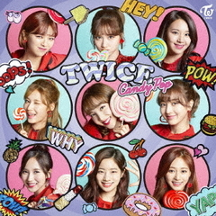 TWICE/Candy Pop【通常盤】<B3サイズポスター(応援店ver)付>