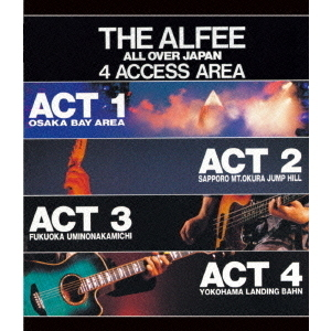 THE ALFEE/THE ALFEE ALL OVER JAPAN 4ACCESS AREA 1988(Blu-ray Disc)