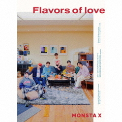 MONSTA X/Flavors of love(初回限定盤/CD+DVD)