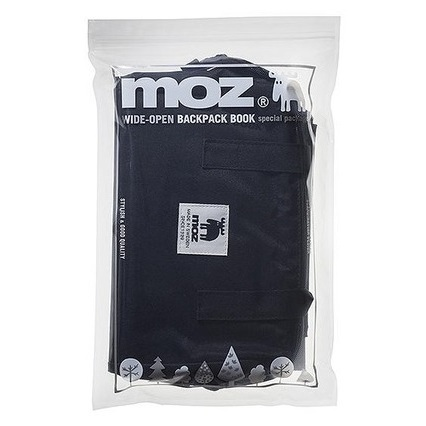 moz WIDE-OPEN BACKPACK BOOK special package