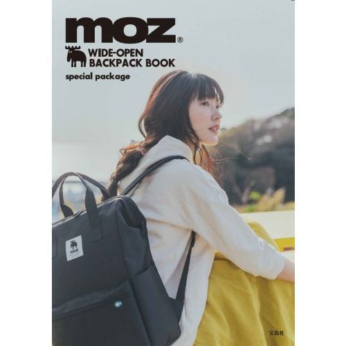 moz WIDE OPEN BACKPACK BOOK 画像 C