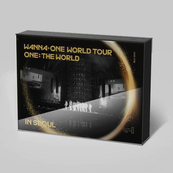 WANNA ONE WORLD TOUR ONE: THE WORLD IN SEOUL BLU-RAY【日本限定版】(Blu-ray Disc)