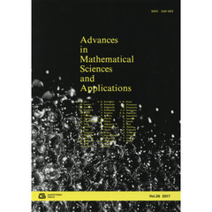 Advances in Mathematical Sciences and Applications Vol.26(2017)