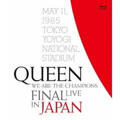 クイーン/WE ARE THE CHAMPIONS FINAL LIVE IN JAPAN 【通常盤BD+解説書付き】(Blu-ray Disc)