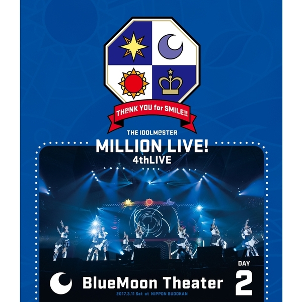 THE IDOLM@STER MILLION LIVE! 4thLIVE TH@NK YOU for SMILE ! LIVE Blu-ray DAY 2(Blu-ray Disc)