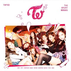 TWICE(トゥワイス)/1ST MINI ALBUM : STORY BEGINS(輸入盤)