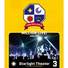 THE IDOLM@STER MILLION LIVE! 4thLIVE TH@NK YOU for SMILE ! LIVE Blu-ray DAY 3(Blu-ray Disc)