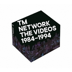 TM NETWORK/TM NETWORK THE VIDEOS 1984-1994 完全生産限定版(Blu-ray Disc)