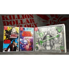 Nintendo Switch No More Heroes 3 KILLION DOLLAR TRILOGY