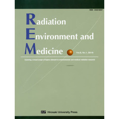 Radiation Environment and Medicine Covering a broad scope of topics relevant to environmental and medical radiation research Vol