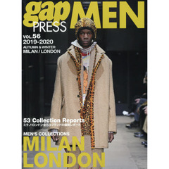 2019-2020 A/W gap PRESS MEN vol.56 MILAN / LONDON (gap PRESS Collections)  MILAN,LONDON MEN'S COLLECTIONS
