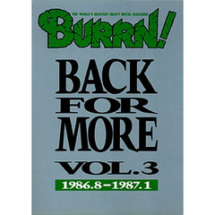 Back for more Vol.3 1986.8-1987.1