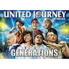 GENERATIONS from EXILE TRIBE/GENERATIONS LIVE TOUR 2018 UNITED JOURNEY 初回生産限定盤