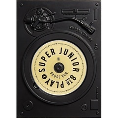 SUPER JUNIOR/8TH ALBUM : PLAY(PAUSE VER.)(輸入盤)<初回限定外付けポスター付>