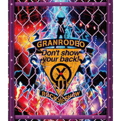 "GRANRODEO/GRANRODEO LIVE 2018 G13 ROCK☆SHOW ""Don't show your back!""(Blu-ray Disc)"