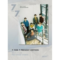 GOT7/7 FOR 7 PRESENT EDITION(輸入盤)<初回限定外付けポスター付>