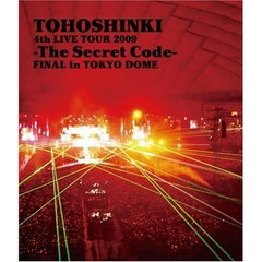 東方神起/4th LIVE TOUR 2009 ~The Secret Code~FINAL in TOKYO DOME(Blu-ray)