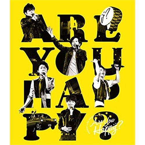 嵐/ARASHI LIVE TOUR 2016-2017 Are You Happy ? Blu-ray 通常盤(2Blu-ray+DVD)(Blu-ray Disc)(Blu-ray)