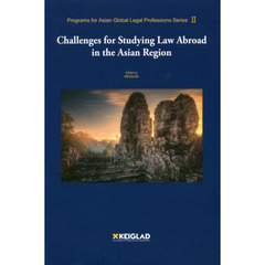 Challenges for Studying Law Abroad in the Asian Region