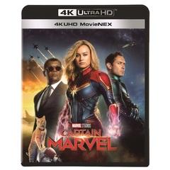 キャプテン・マーベル 4K UHD MovieNEX<セブンネット限定:缶バッジ2個セット>(Blu-ray Disc)