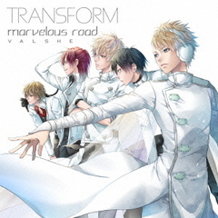 TRANSFORM/marvelous road(初回限定盤B・WRITERZ盤)
