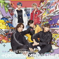 TOMORROW X TOGETHER(TXT)/MAGIC HOUR(初回限定盤A/CD+DVD)
