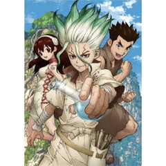 Dr.STONE ドクターストーン Vol.1 Blu-ray <初回生産限定版><セブンネット限定全巻購入特典対象商品>(Blu-ray Disc)