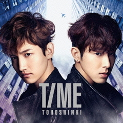 TIME(DVD付)(東方神起フェア限定B2ポスター付き)
