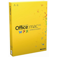 Office for Mac Home and Student 2011 1Pack 日本語版(PCソフト)