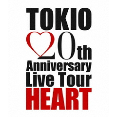 TOKIO/TOKIO 20th Anniversary Live Tour HEART(Blu-ray Disc)