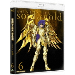 聖闘士星矢 黄金魂 -soul of gold- 6(Blu-ray Disc)