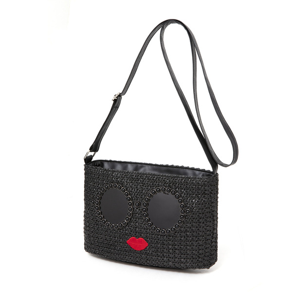 a-jolie BASKET SHOULDER BAG BOOK BLACK ver. 付録