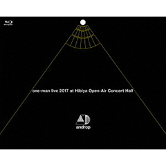 androp/one-man live 2017 at Hibiya Open-Air Concert Hall(Blu-ray Disc)