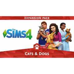 PS4 The Sims 4 Cats & Dogsバンドル