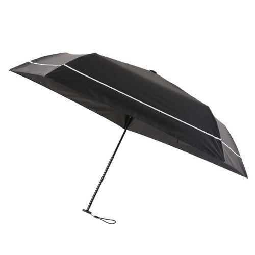 SUN DEFENCE UMBRELLA 100% 遮光日傘 BOOK BLACK 画像