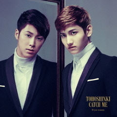 Catch Me -If you wanna-(初回生産限定盤)(東方神起フェア限定B2ポスター付き)