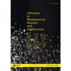 Advances in Mathematical Sciences and Applications Vol.18,No.2(2008)