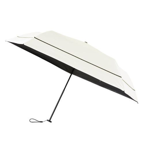 SUN DEFENCE UMBRELLA 100% 遮光日傘 BOOK WHITE 付録