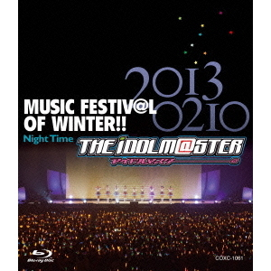 THE IDOLM@STER MUSIC FESTIV@L OF WINTER!! Night Time(Blu-ray Disc)