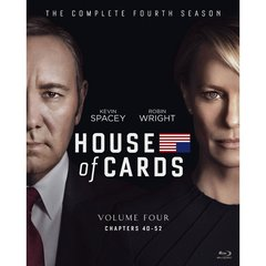 ハウス・オブ・カード 野望の階段 SEASON 4 Blu-ray Complete Package <デヴィッド・フィンチャー完全監修パッケージ仕様>(Blu-ray Disc)