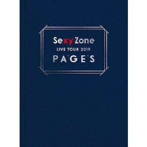Sexy Zone/Sexy Zone LIVE TOUR 2019 PAGES <初回限定盤 Blu-ray>(Blu-ray Disc)
