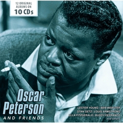 OSCAR PETERSON/OSCAR PETERSON AND FRIENDS(10枚組)(輸入盤)