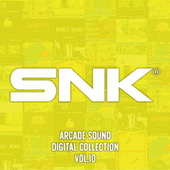 SNK ARCADE SOUND DIGITAL COLLECTION Vol.10