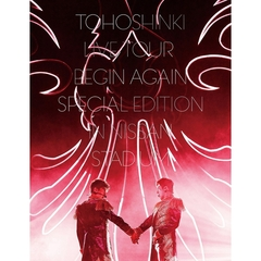 東方神起/東方神起 LIVE TOUR ~Begin Again~ Special Edition in NISSAN STADIUM DVD 初回生産限定盤