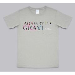 "Mr.Children Dome Tour 2019 ""Against All GRAVITY""/""Against All GRAVITY""ポケットTシャツ (SILVER GRAY) Mサイズ"