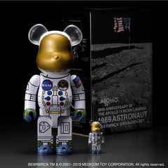 1969 ASTRONAUT BE@RBRICK 100% & 400% SET